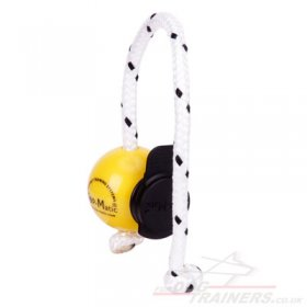 NEW! Top-Matic Magnetic Training System: Yellow Fun Ball Mini SOFT & Black Power-Clip