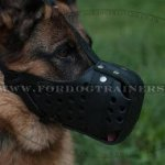 German Shepherd K9 Xtra Strong Dog Muzzle for Maximum Protection