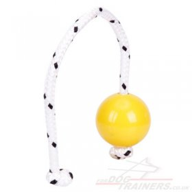 NEW! Top-Matic Fun Ball Mini SOFT Yellow for Small & Young Dogs