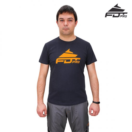 New Dog Trainer T-shirt FDT Pro Dark Grey 'Pro Fit'