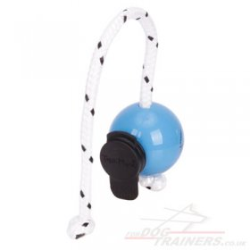 Top-Matic Dog Training Ball on Rope with MULTI Power Clips