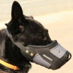 Plastic Basket Muzzle for German Shepherd | Best Dog Muzzle K9