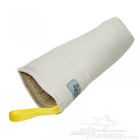 French Linen Dog Training Bite Sleeve For Puppy Training