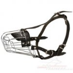 Large Wire Dog Muzzle for Large Breeds, UK