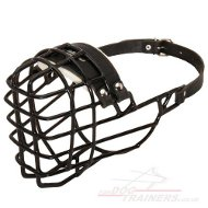 Rubberized Wire Basket Dog Muzzle for Rhodesian Ridgeback Size