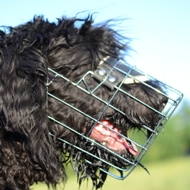New Wire Basket Cage Dog Muzzle for Black Russian Terrier