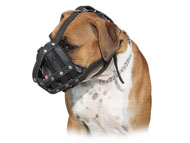 Leather Dog Muzzle for Boxer | Light Boxer Muzzle for Daily Use