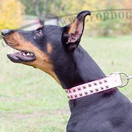Pink Dog Collars for Doberman Dogs | Pink Dog Collar New Style