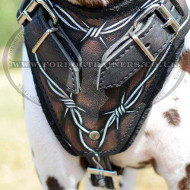 "Gorgeous Dog Harness ""Wire"" for Dalmatian Training"