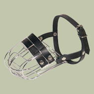 Wire Basket Dog Muzzle for small dog breeds UK