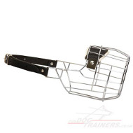 English Bull Terrier Muzzle | Dog Wire Muzzle