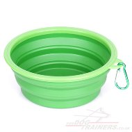 3-Sized Portable Collapsible Dog Bowl for Walks and Travel
