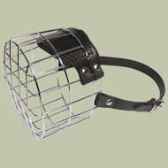 Basket Muzzle for Dogs of Large Breeds | Briard Muzzle Size
