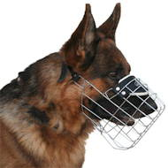 Wire dog muzzle uk, perfect for German Shepherd