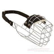 Basket Muzzle for Doberman | Doberman Muzzle Basket