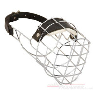 Wire Dog Muzzle for Pitbull | Muzzle for Staffy