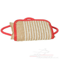 Dog Bite Training Pad | Jute Pad New Strong Design