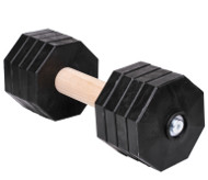 Big Agility Dumbbells for Dog Training with Removable Disks, 2kg