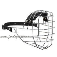 Big American Bulldog Muzzle UK Bestseller of Wire Dog Muzzles