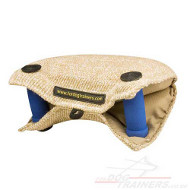 Bite Builder for Puppy Training | Puppy Training Jute Bite Pad