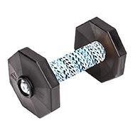 "Dog Obedience Dumbbells with Synthetic Cover ""Fetch"" 650 g"