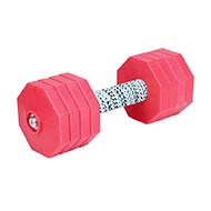 "Dumbbell for Dogs with Synthetic Covering ""Hard Workout"", 2 kg"