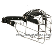 Wire Dog Muzzle UK | Collie Muzzle Made of Wire Basket