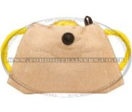 Strong Jute Bite Pad for Puppy Training Biting, Bite Builder