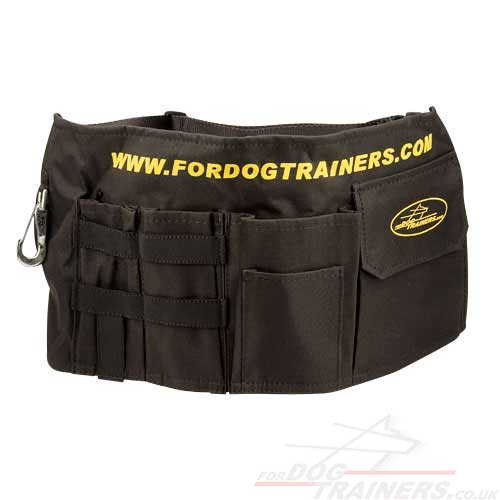 dog training treat bag for dog trainers