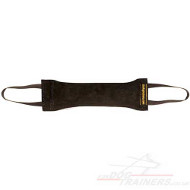 Leather Dog Bite Tug UK Bestseller 12 in with Handles