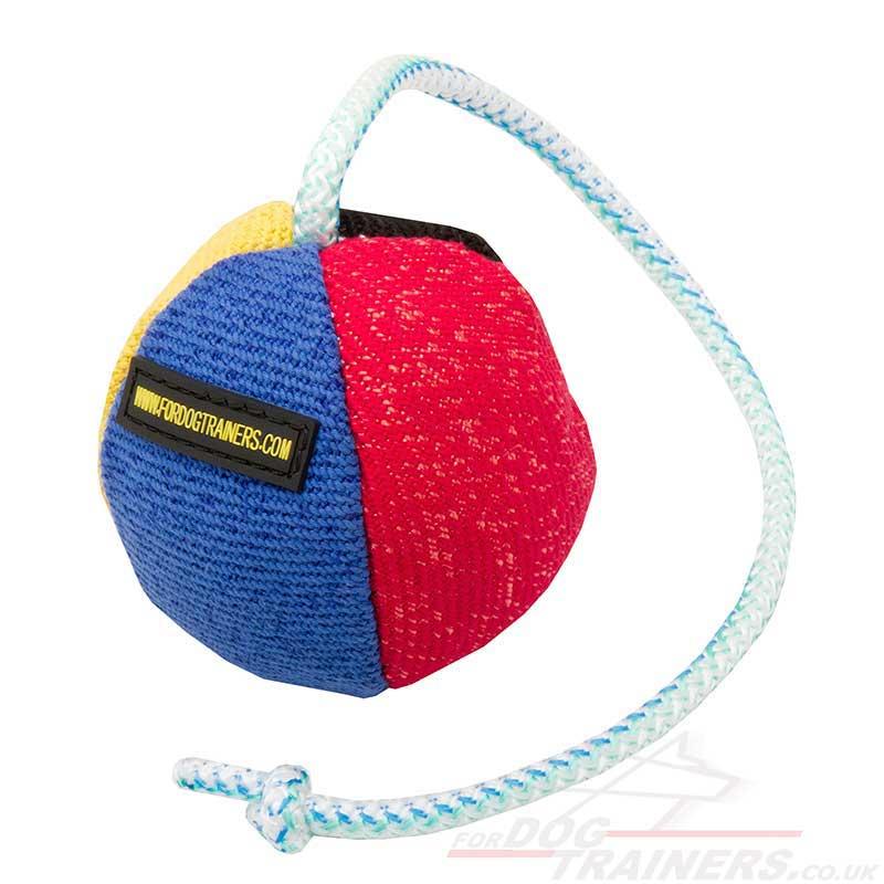 soft dog ball for training