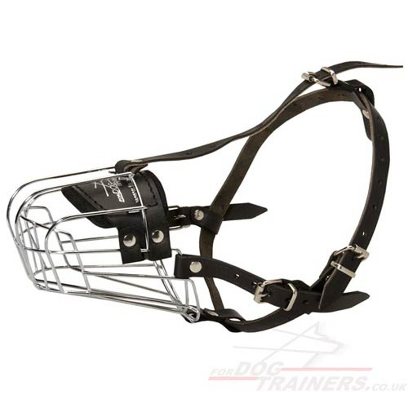 Metal Wire Basket Muzzle