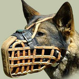 Police Dog Muzzle for K-9 Dogs