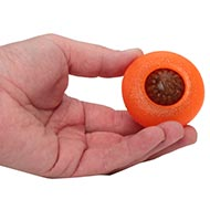 The Best Dog Toy for Small Dog Chewing 'Bento Ball' 1.4 x 2.6 in
