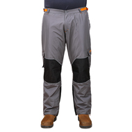 New Dog Training Pants FDT Pro Grey Colour with Orange Trim