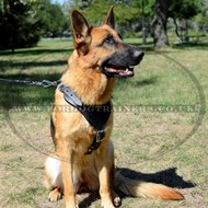 German Shepherd Dog Harness with V-Shaped Chest