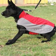 Warm German Shepherd Dog Jacket for Winter, Cold and Wet