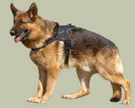 German Shepherd Nylon multi-purpose dog harness UK