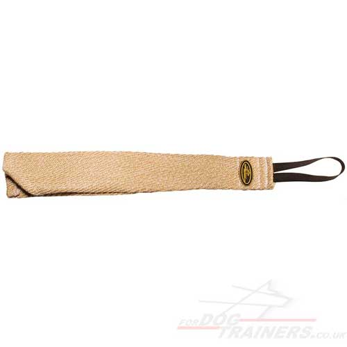 Jute Bite Rag | Dog Bite Tug for Prey Drive Training