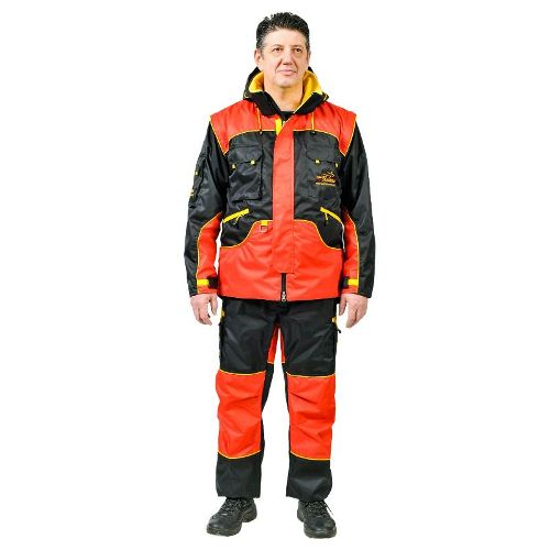 Red Dog Training Padded Suit for Any Weather Trials