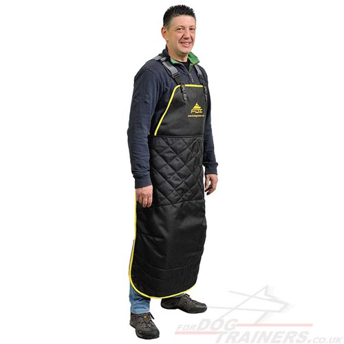 "Nylon Apron for Dog Training and Grooming ""Anti Scratch"""