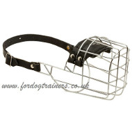 Wire Dog Muzzle for Malinois | Belgian Malinois Muzzle Sizes