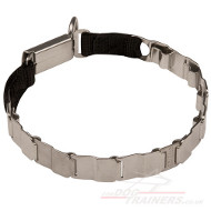 Stainless Steel Fur Saver Collar | Neck Tech Dog Collar NEW