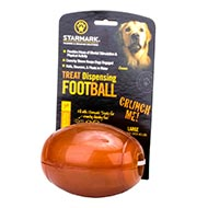 "Cool Dog Toy for a Big Dog "" Rugby Ball"" for Treats Dispensing"
