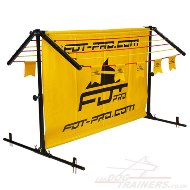 New K9 Hurdle for Dog Training Jumping with Adjustable Header
