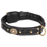 NEW 2021 Vintage Dog Collar Design with Braids, Soft Padded