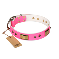 "New Pretty Dog Collar ""Pink Daydream"" by FDT Artisan"