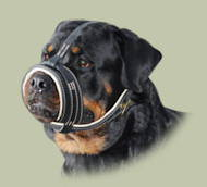 Soft Padded Dog Muzzle for Rottweiler | Best Rottweiler Muzzle