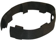 Nylon removable protector for pinch collars, black