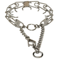Big Dog Pinch Collar with Quick Release 3.25 mm Chromed Wire